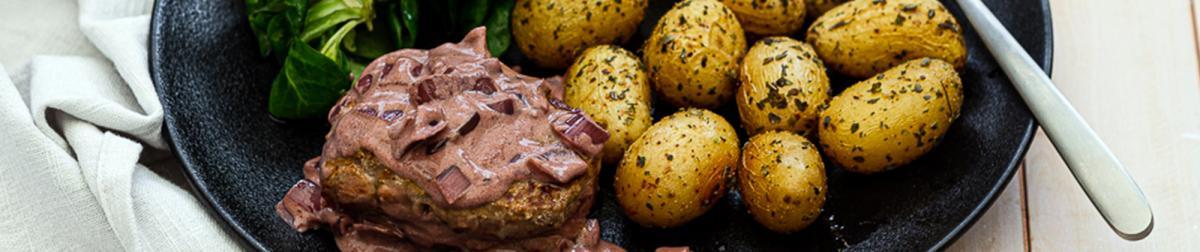Tournedos de bœuf sauce échalote et vin rouge
